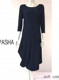 pasha robes dress  PLEAT PLISSE
